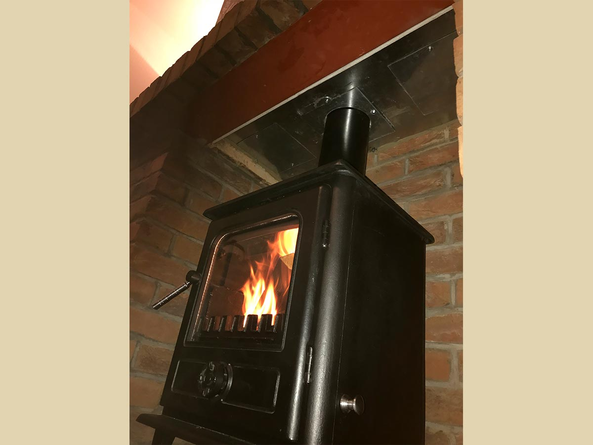 Arbeia Norvik 5 Multifuel Stove Wood burning stove installation and chimney sweep-1
