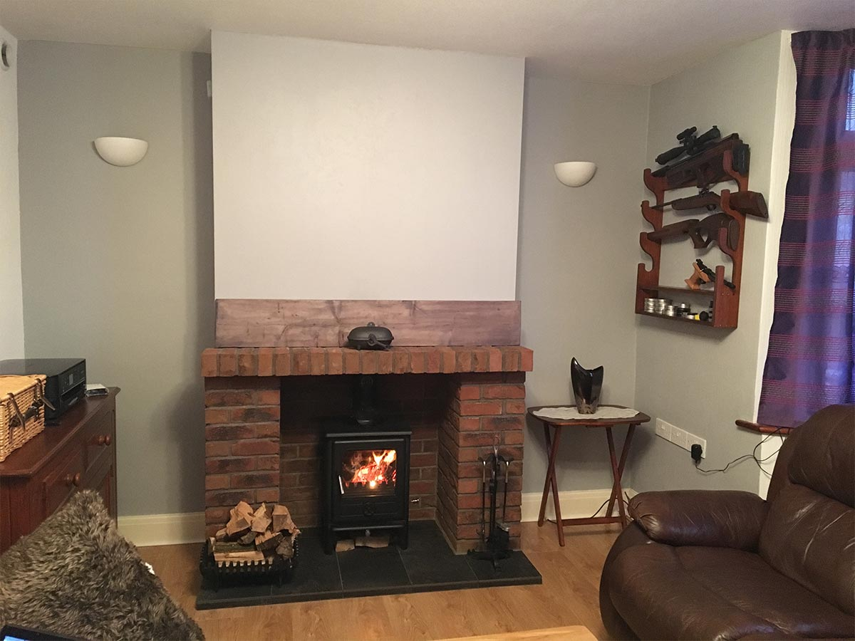 Arbeia Norvik 5 Multifuel Stove Wood burning stove installation and chimney sweep