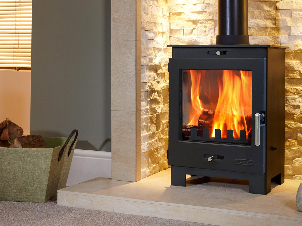 Flavel Arundel Multifuel Stove Wood burning stove installation and chimney sweep