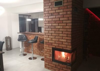 Wood burning stove installation MK SOLUTIONS chimney sweep