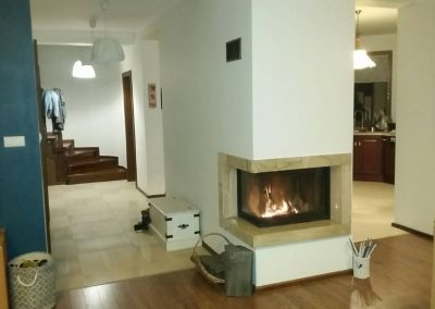 Arysto A10,Corner inset stove, guillotine type doors stove, fireplace-installation.co.uk, MK Solutions