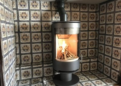 Fireline Purevision 5 Panoramic Cylinder Stove 03, stove installation, fireplace-installation.co.uk, MK Solutions