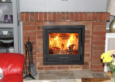 Fireline FPi8 Multifuel Burning Stove, fireplace installation ,stove installation, fireplace-installation.co.uk, MK Solutions