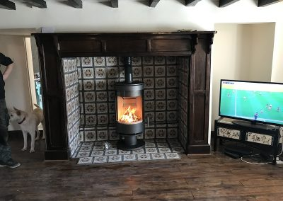Fireline Purevision 5 Panoramic Cylinder Stove 01, stove installation, fireplace-installation.co.uk, MK Solutions