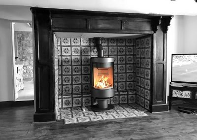 Fireline Purevision 5 Panoramic Cylinder Stove 02, stove installation, fireplace-installation.co.uk, MK Solutions