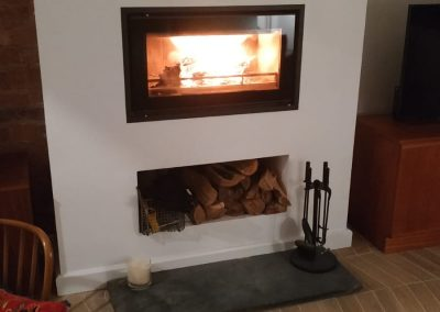 Stovax Riva Studio 1 Inset Cassette Wood Burning Stove, fireplace-installation.co.uk, MK Solutions