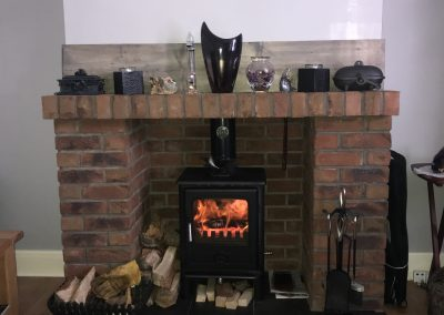 Arbeia Norvik 5 Multifuel Stove, free standing stove, 02, fireplace-installation.co.uk, MK Solutions