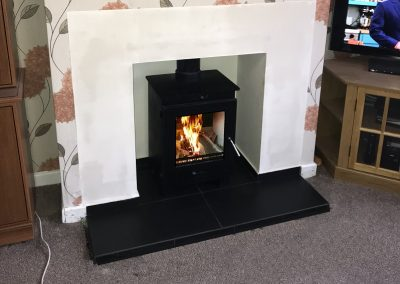 Flavel Arundel mk1 Multifuel Stove, Twinn wall installation, 01, fireplace-installation.co.uk, MK Solutions